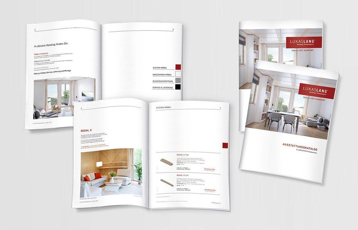 Editorial Design - Katalog für LUKAS LANG