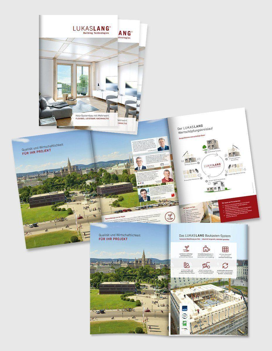 Marketingmaterial - Imagefolder für LUKAS LANG