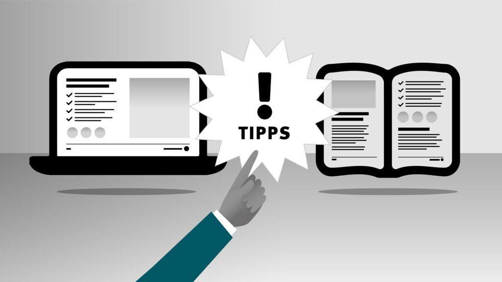 Screen- und Print-Tipps